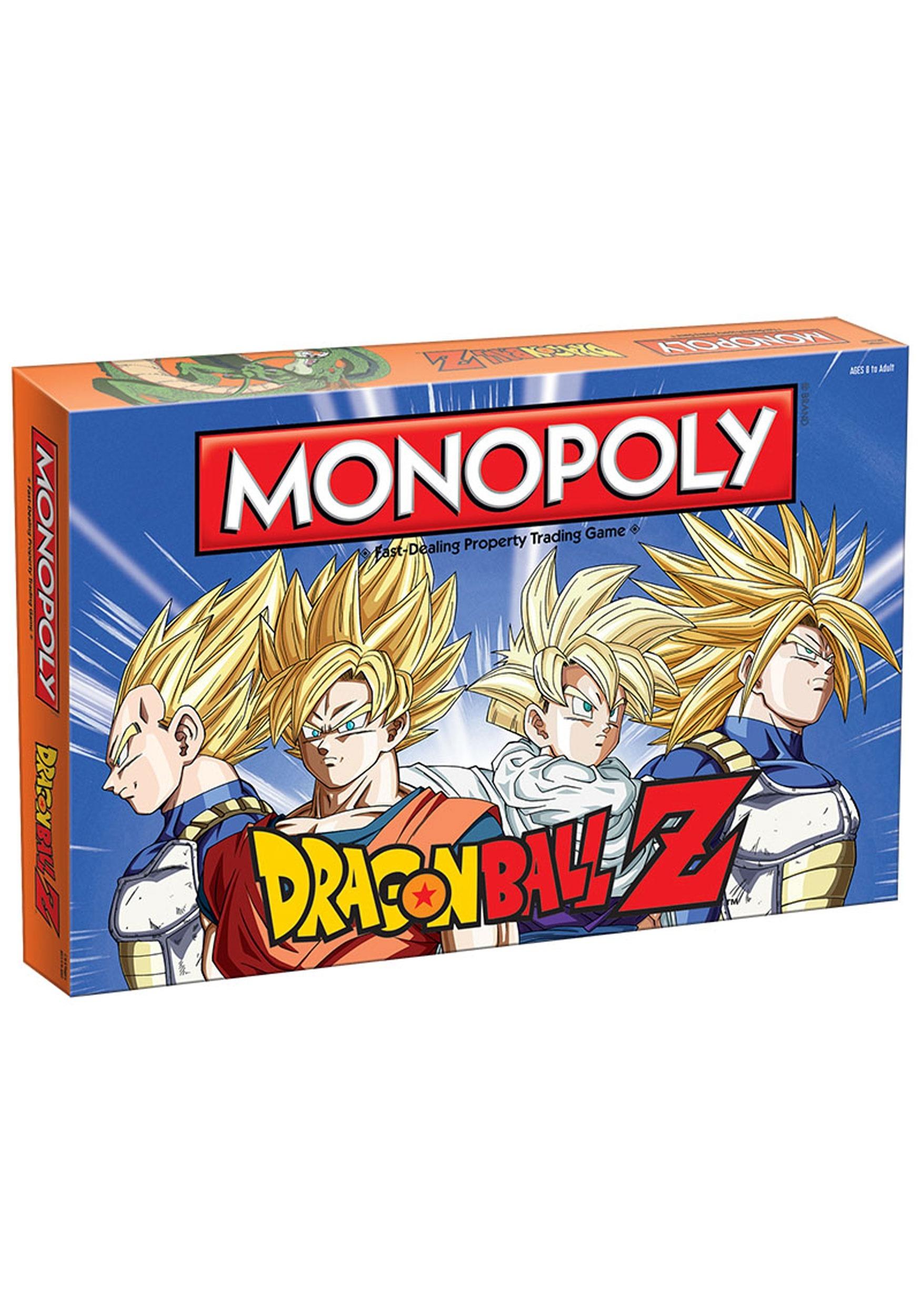 MONOPOLY Dragon Ball-Z Board Game