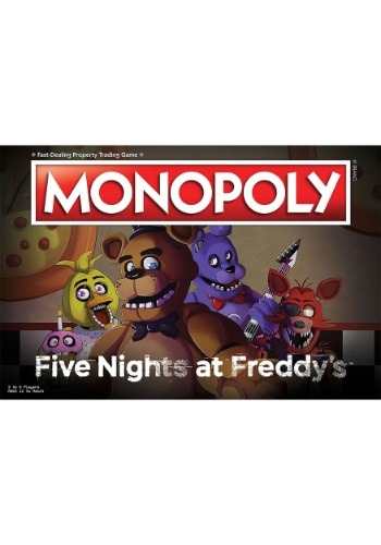 MONOPOLY Five Nights at Freddy's Board Game