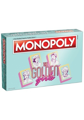 MONOPOLY The Golden Girls Board Game