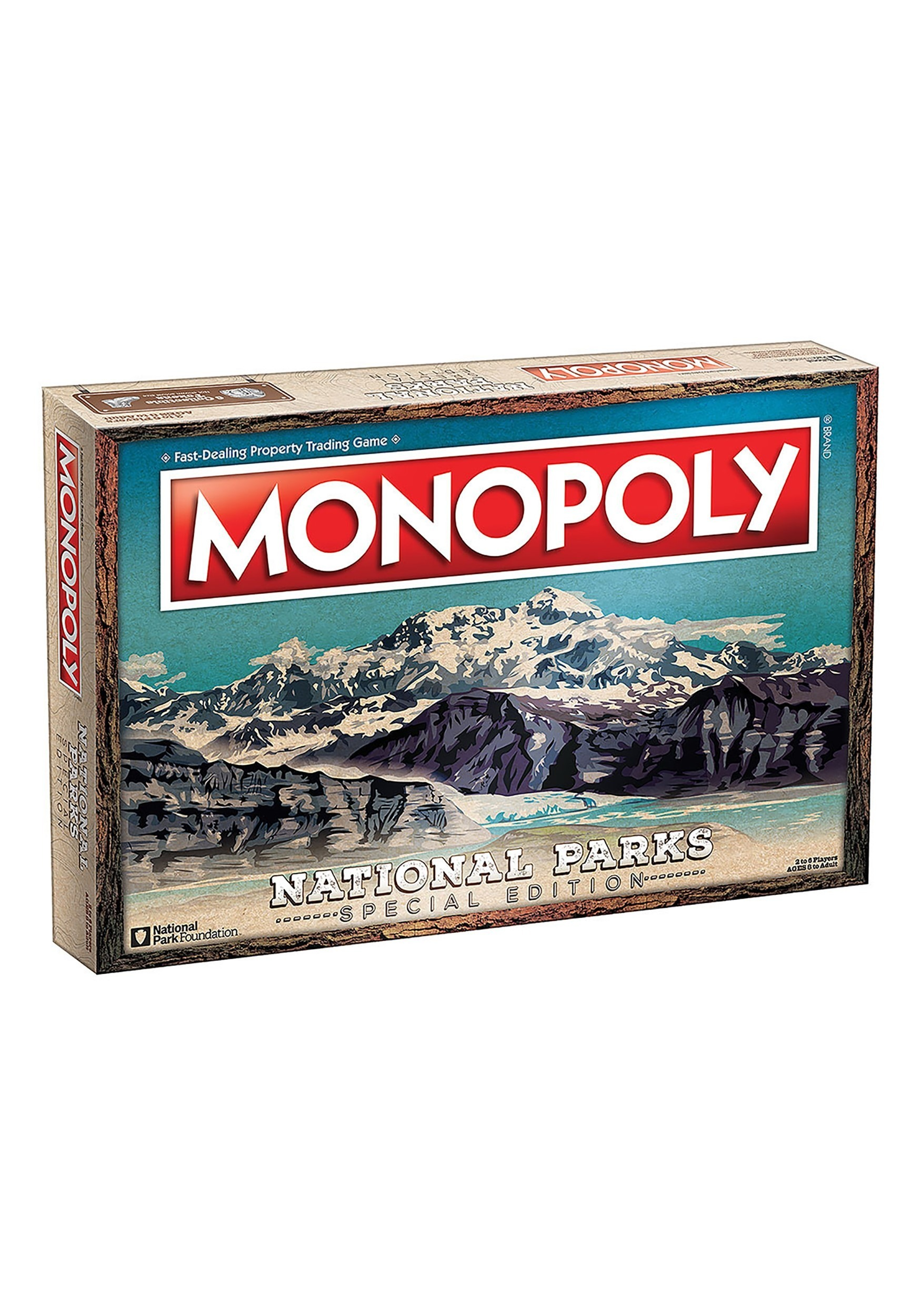 MONOPOLY National Parks Board Game