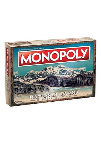 MONOPOLY National Parks Board Game update