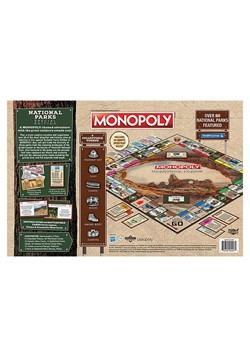 MONOPOLY National Parks Board Game Alt 1