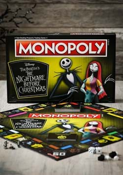 MONOPOLY The Nightmare Before Christmas 25th Anniversary