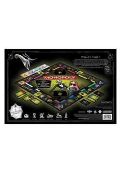 MONOPOLY The Nightmare Before Christmas  Alt 2