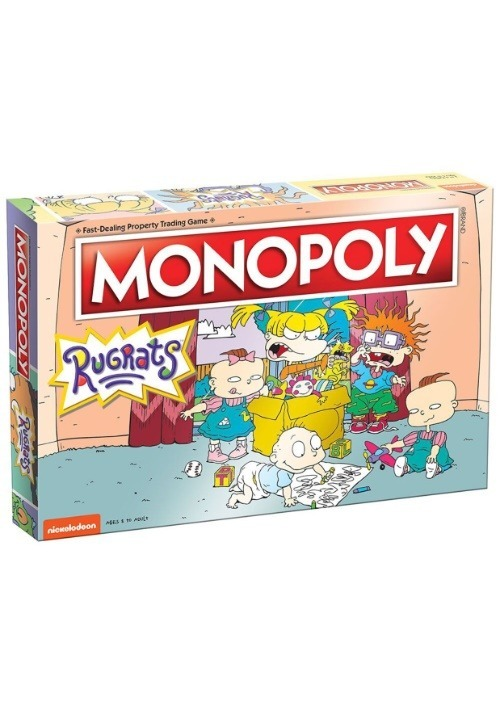 MONOPOLY Rugrats Board Game