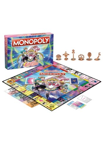 Monopoly Sailor Moon Board Game