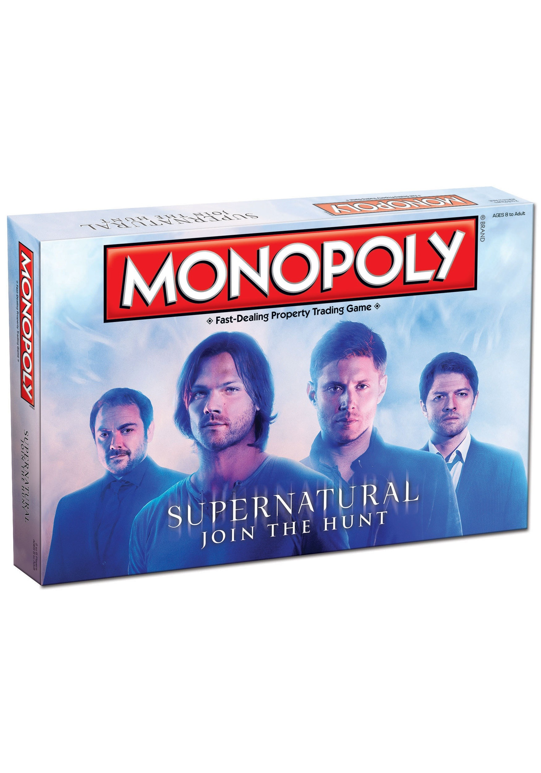 MONOPOLY Supernatural Board Game