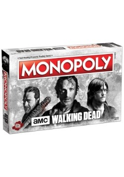 MONOPOLY The Walking Dead - AMC Board Game