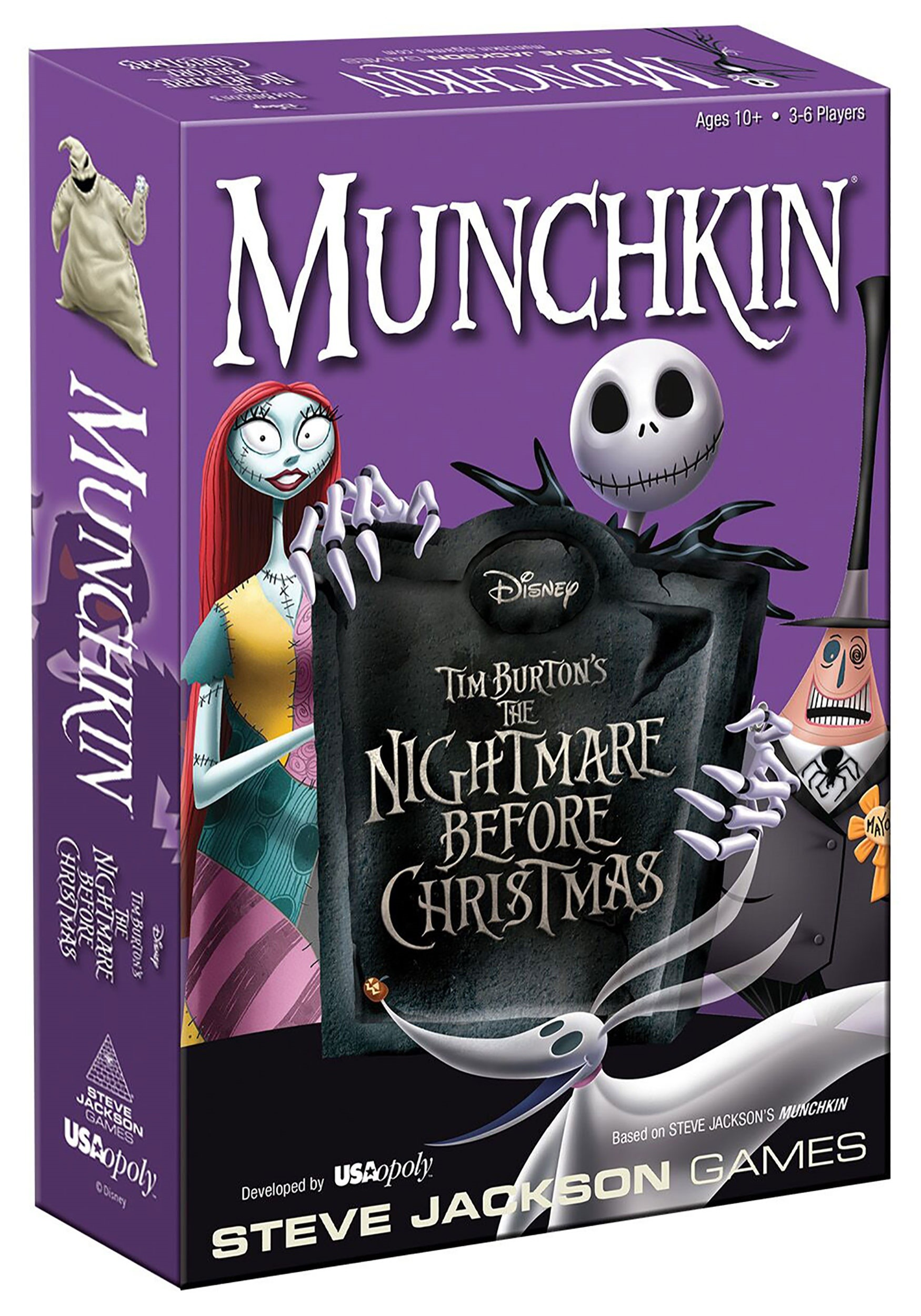 munchkin the nightmare before christmas card game - Christmas Card Games