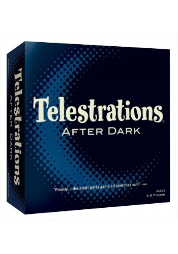 Telestrations 8 Player After Dark Adult Party Game