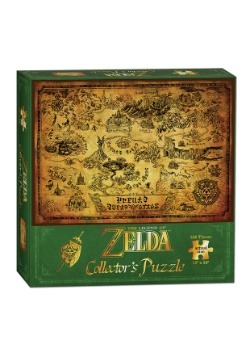 The Legend of Zelda Hyrule Map 550 Piece Puzzle Alt 2