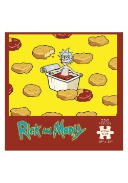 Rick and Morty Szechuan Hot Tub 550 Piece Puzzle