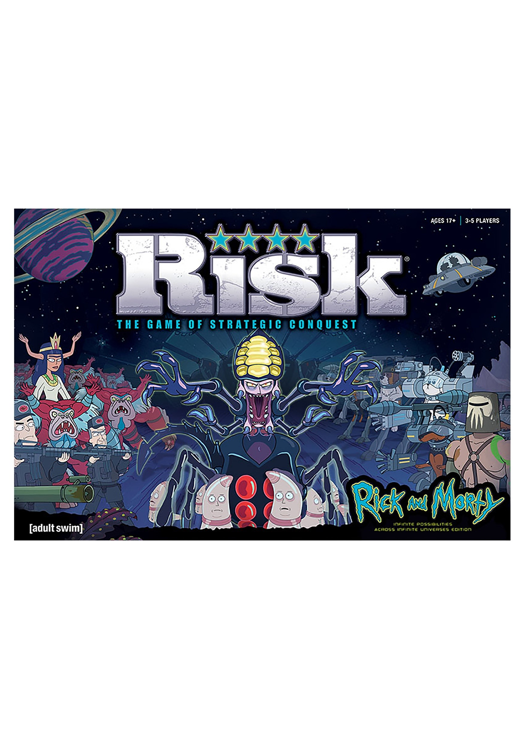 RISK Rick and Morty Board Game