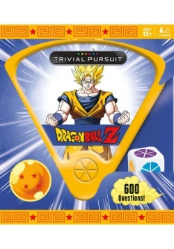 TRIVIAL PURSUIT Dragon Ball Z Game