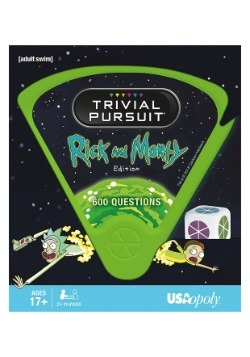 TRIVIAL PURSUIT Rick and Morty Game