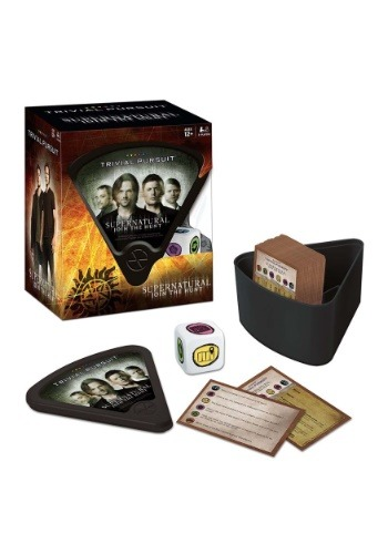 Trivial Pursuit Supernatural Game
