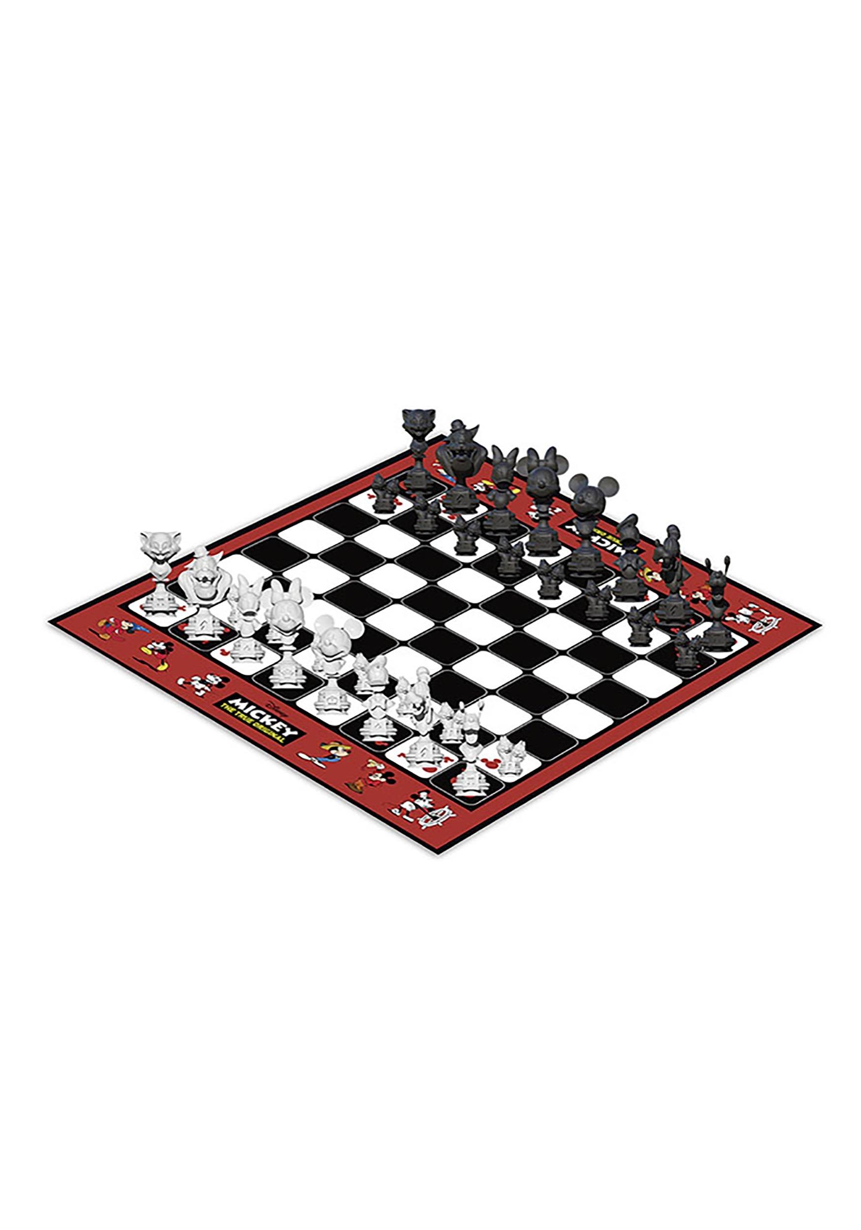 Mickey the True Original 90 years of Magic Chess Set