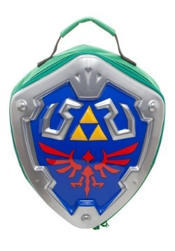 Legend of Zelda Skyward Sword Link Shield Molded Lunchbox
