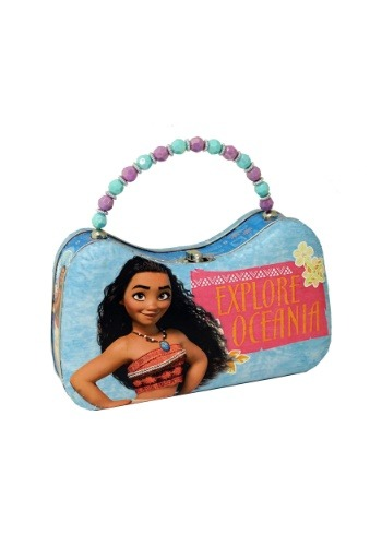 Disney Moana Tin Scoop Purse w/ Beaded Handle