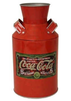 Coca Cola Milk Can Décor