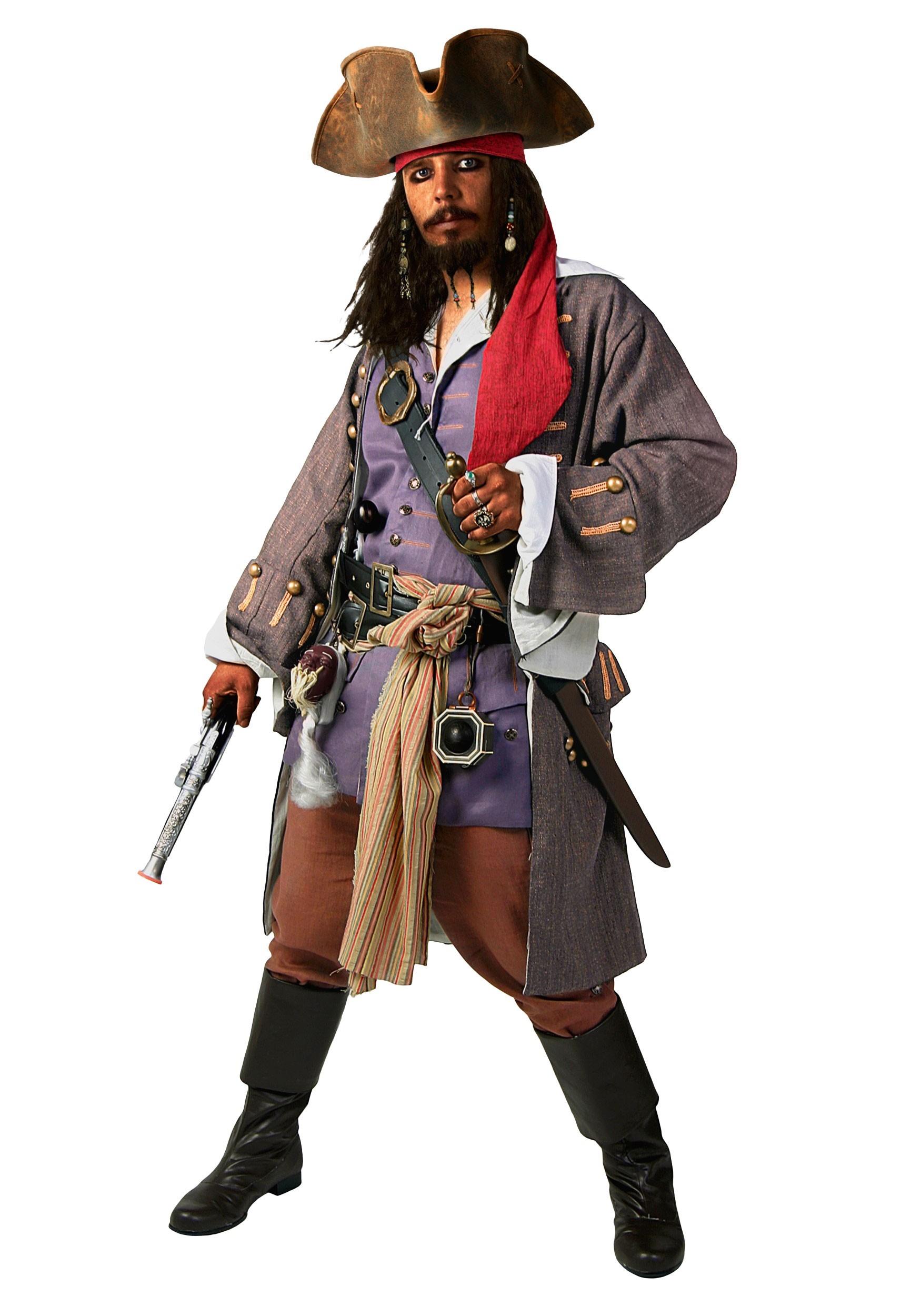Supreme Caribbean Pirate Costume for Men