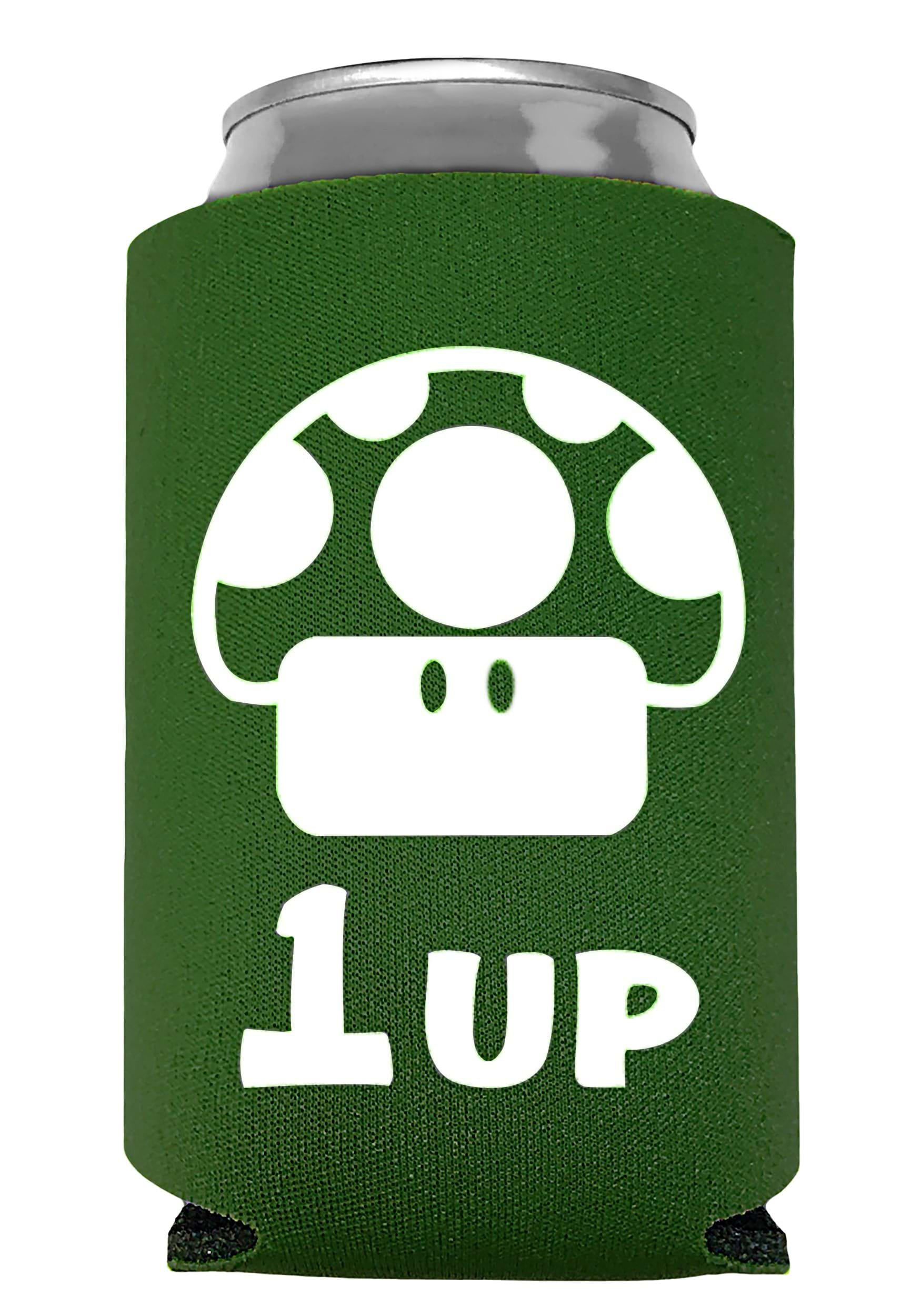 1 Up Extra Life Mushroom Can Cooler