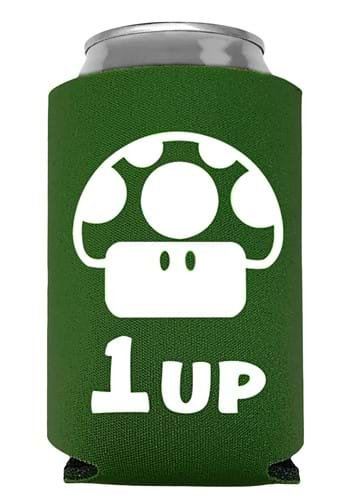 1 Up Extra Life Green Can Koozie UPD