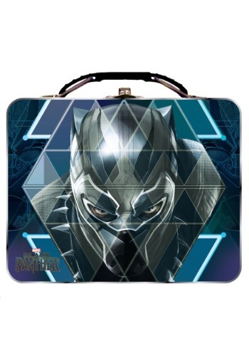 Black Panther Face Large Carry All Tin