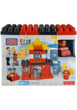 Mega Bloks First Builders Rescue Squad Set