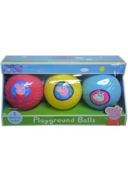 Peppa Pig 3pk Mini Bounce Balls