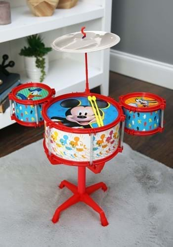 Mickey and the Roadster Racers Drum Set update