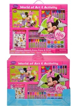 Minnie Mouse World of Art & Activity Set