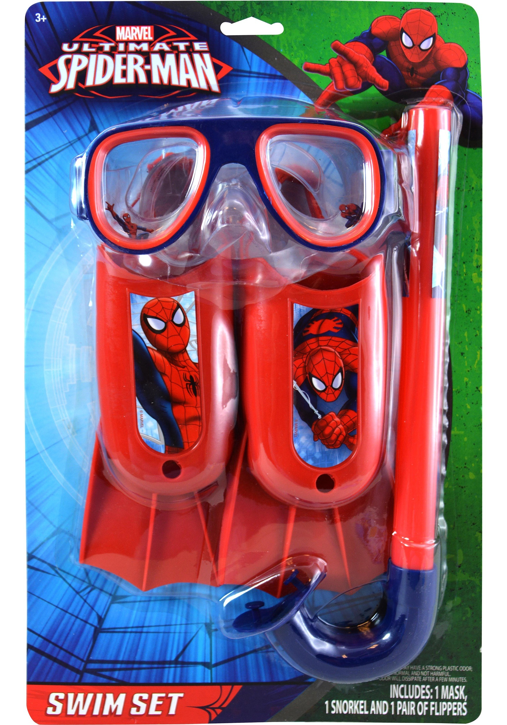 0d73989f5ac794 Spider-Man 3 Piece Swim Set