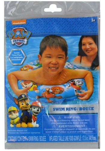 Paw Patrol Inflatable Swim Ring
