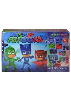 PJ Masks 8 Pack of Puzzles