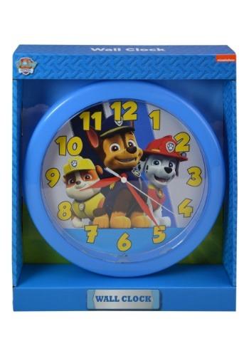 "Paw Patrol 10"" Round Wall Clock"