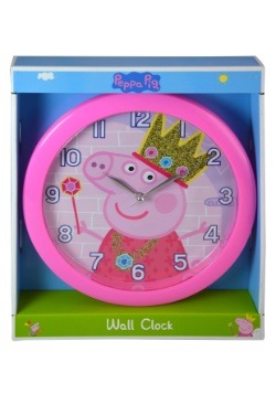 "Peppa Pig 10"" Round Wall Clock"