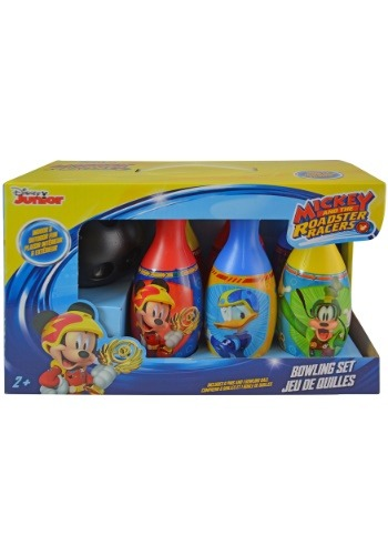 Mickey Roadsters Bowling Set