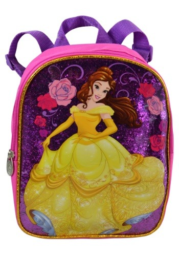 "10"" Disney Beauty & the Beast Backpack"