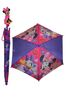 Disney Minnie Mouse Molded Handle Umbrella