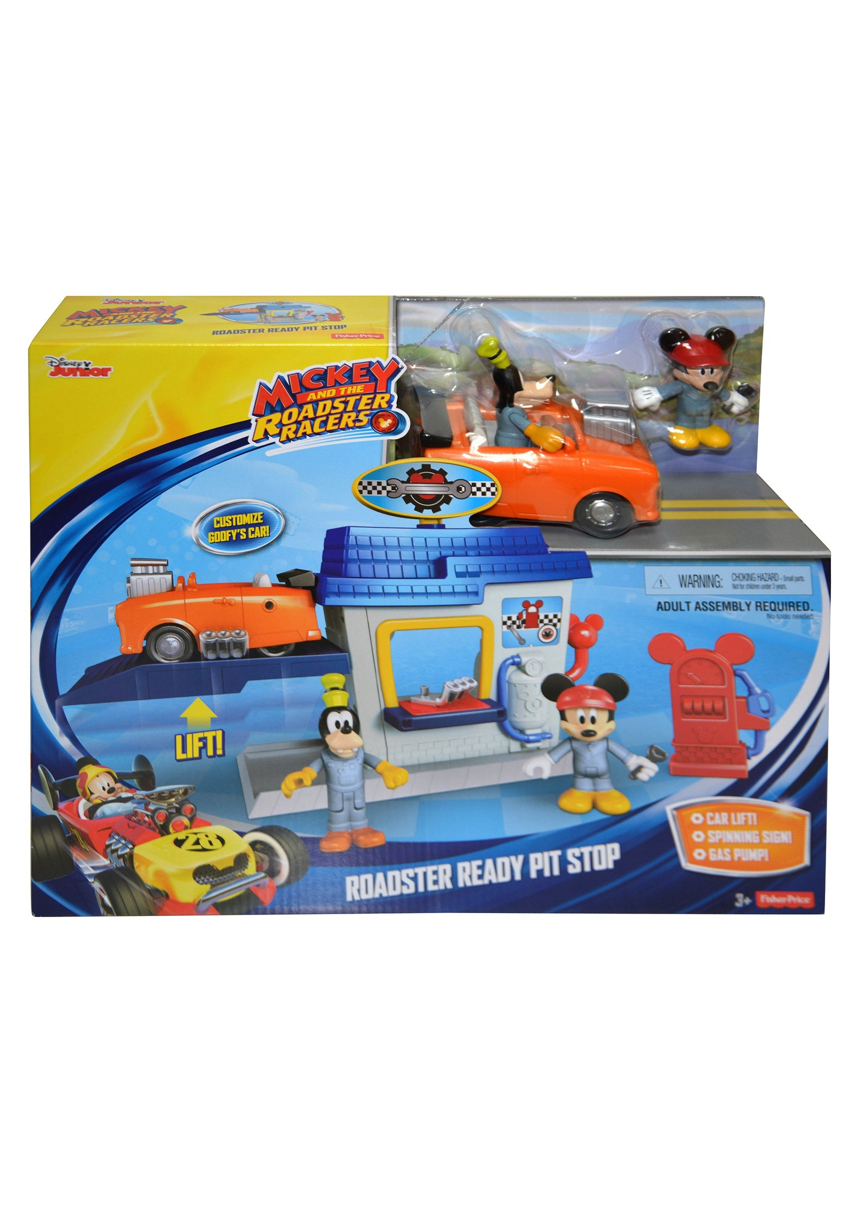 Disney Junior Mickey Roadster Racers Toys