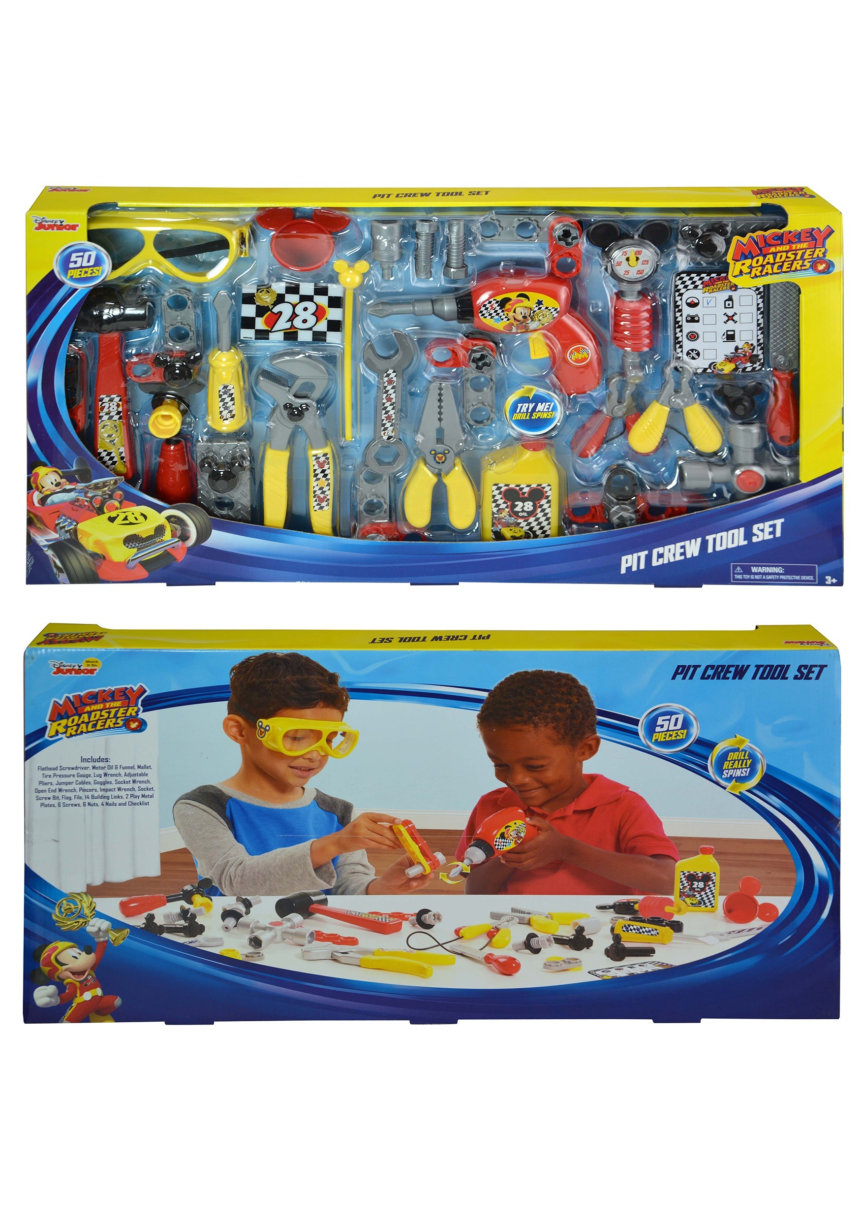 d4b9ddcad2b20 Mickey Mouse and the Roadster Racers Pit Crew Tool Set
