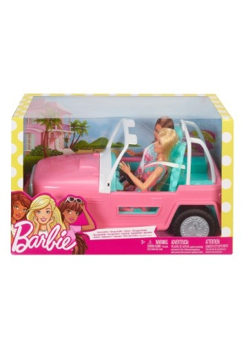Barbie Dolls with Vehicle