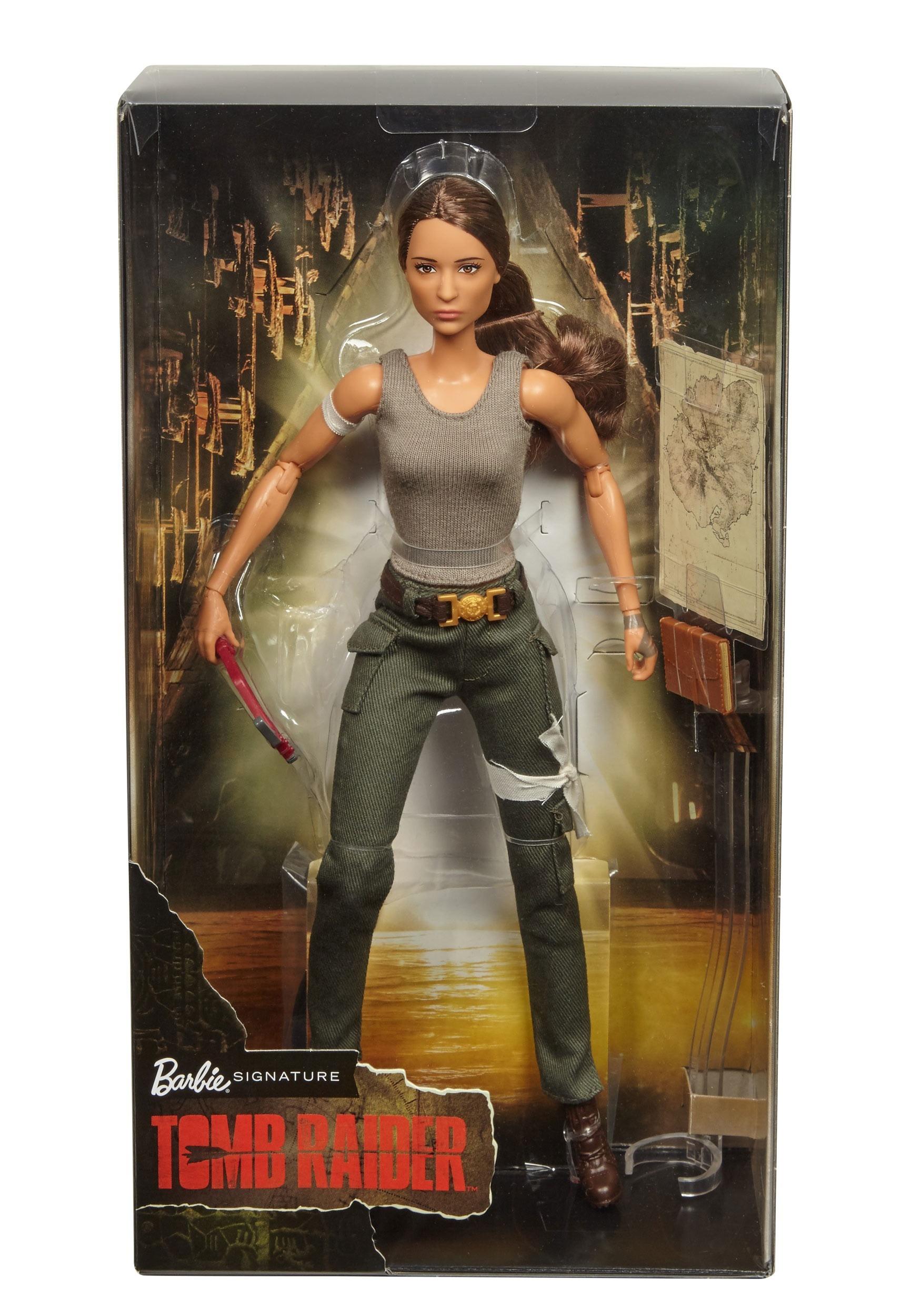 Barbie Collection Tomb Raider Lara Croft