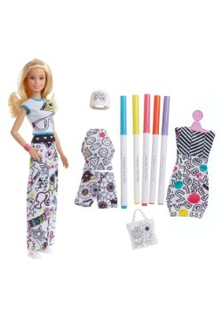 Barbie Crayola Color In Fashion Doll1