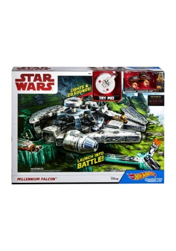 Hot Wheels Star Wars Millennium Falcon Playset1
