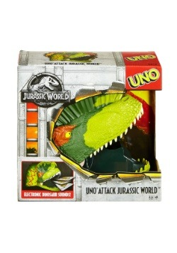 Jurassic World Uno Attack Game