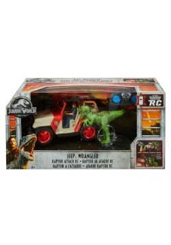 Matchbox Jurassic World Raptor Rampage RC
