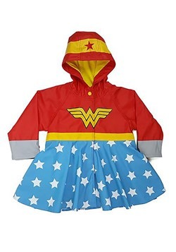 Wonder Woman Rain Coat
