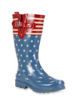 Flag Top Pop Women's Rainboot